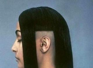 当你的理发师有很强的创作欲望,憋说了看图