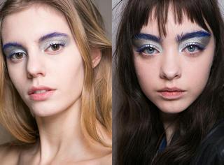 2017不流行素颜妆,从伦敦时装周看5大浮夸彩妆热潮!