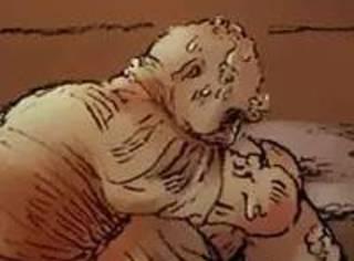 脑洞漫画《汗蒸室》,变漂亮的神奇魔法