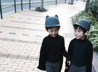 日本双胞胎小正太靠穿搭在ins上抢镜无数,暖男范儿、绅士范儿,没有他们hold不住的!