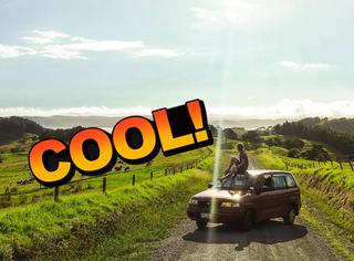 小哥一个人走遍新西兰,画面太美!