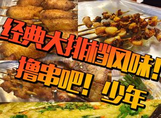 【京派烤串】一家与望京小腰杠了多年的苍蝇馆子!北方之夜就该撸起来啊!