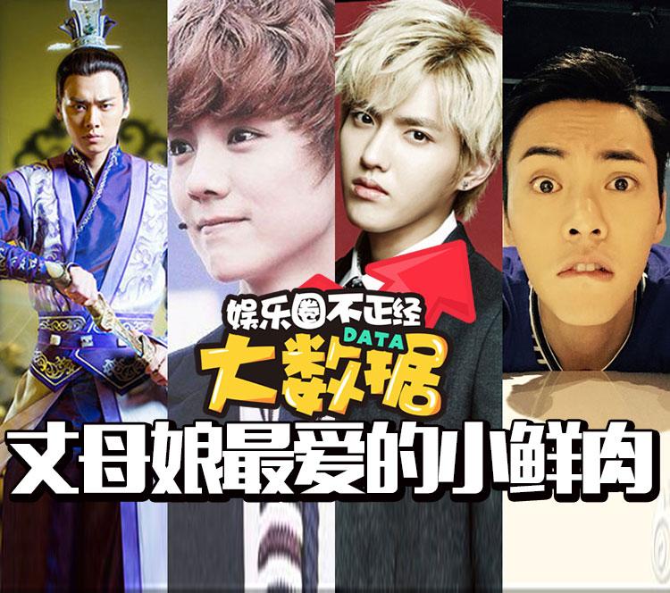 鹿晗、吴亦凡、张艺兴谁才是丈母娘最爱?