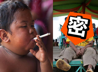 还记得那个2岁就成老烟枪的小男孩吗?他现在变这样了