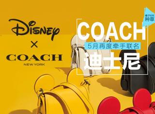 去年错过了?没关系!COACH再携迪士尼推出22款萌物!