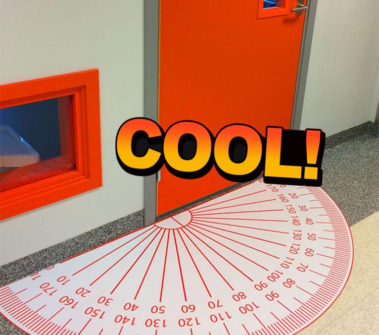 那些国外网友分享的学校里的创意设计,超赞!_橘子娱乐