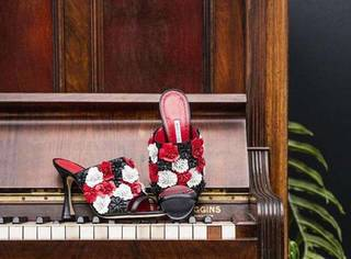 摩姐带你浪|穿上这双花朵鞋,做枚可人的花仙子~