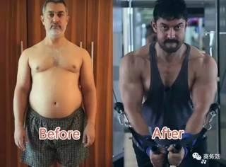 《摔跤吧!爸爸》阿米尔汗5个月减肥54斤,鬼知道他经历了什么