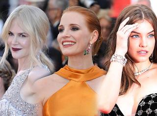 戛纳电影节不容错过的还有这些美人以及她们的妆发!