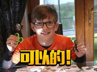 可以的,外国8岁小男孩玩玩具玩出了商机