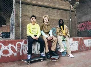 滑板少年们都爱穿点啥?