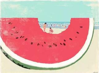插画 | 这才是属于夏天的颜色!