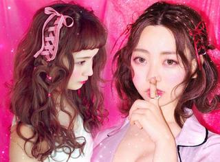 可爱哭了!一个少女心爆棚的汉子专门为女孩子做侧绑带发型!