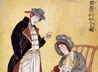 霓虹国最早是怎么描画美国人的?