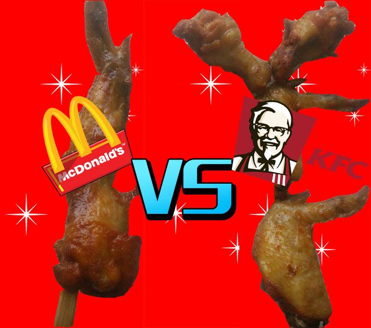 """""""那么大鸡翅"""",别以为你个儿高肉多就赢了!"""