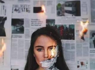 壁纸  少女,你这是在玩火啊!