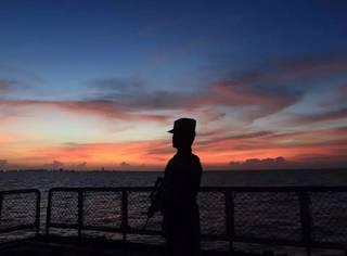 一名中国海军相机里流出的照片,惊呆了!