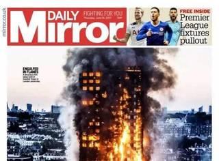 """""""火浴""""后的伦敦有爱也有泪,但惨痛的代价必将刻骨铭心"""