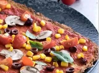 超健康的低碳水减脂披萨出炉啦!