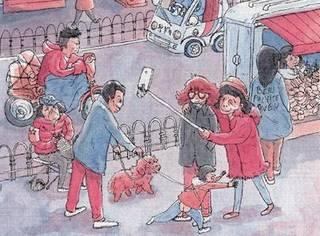 被西方妖魔化的中国...到了这个法国女孩的画笔下,变得接地气又可爱了呢~