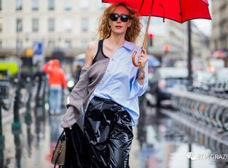 下雨天如何做到舒舒服服又时髦地出街