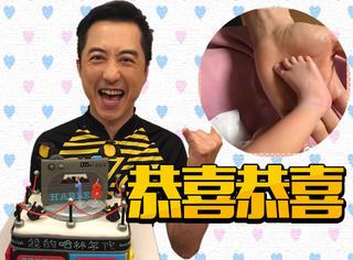 庾澄庆张嘉欣孩子出世,宝宝也太像爸爸了吧哈哈哈!