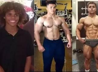 """20岁的他,只靠一招""""变异""""肌肉完爆99%的肌肉男!"""