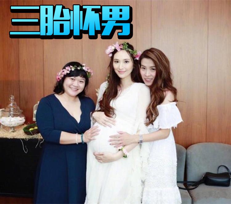 吴佩慈第三个孩子都要来了,网友还是更关心她什么时候嫁给富豪男友