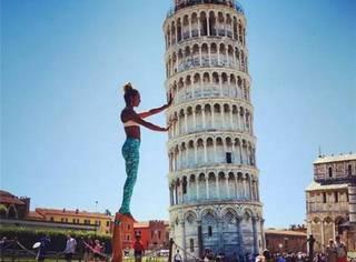 这一对夫妇周游世界,用瑜伽照片吸引了全球几十万的追随者