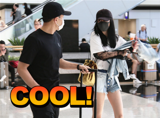 杨幂刘恺威机场同框,你们俩这是在聊小糯米嘛?