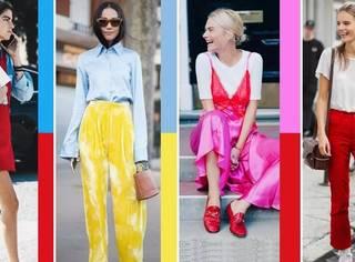 夏天想穿得时尚?你还缺这套最全的配色方案