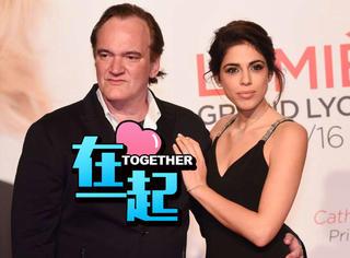 54岁的昆汀与相差21岁的女友订婚,好莱坞大浪子终于被收服啦!