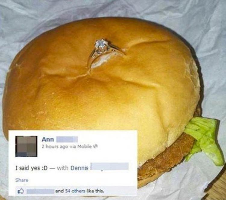 假如男友这样向自己求婚,你会同意吗?