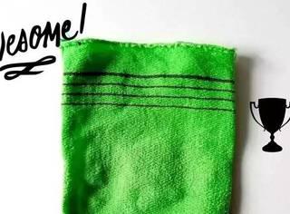 连宋智孝都爱的搓澡巾,你觉得它土?