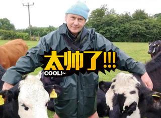 59岁大叔继承家里的养牛场,但他却把牛都送走了