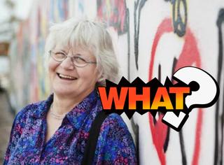 这个奶奶专门清理墙上的一些涂鸦,一清就是31年