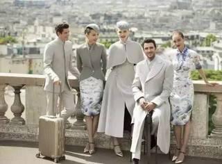 空姐制服都上了巴黎高定时装周的秀场啦