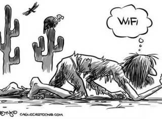就因为随便连了个免费Wi-Fi,居然要被罚去扫厕所?