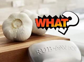 这款不锈钢香皂专门能洗掉大蒜味,你会用吗?