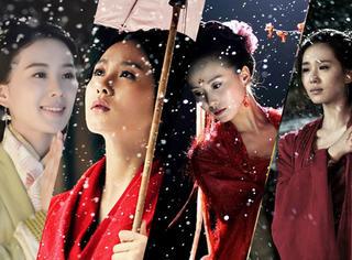 《步步惊心》到《醉玲珑》,刘诗诗拍戏就下雪,特殊体质令人羡慕