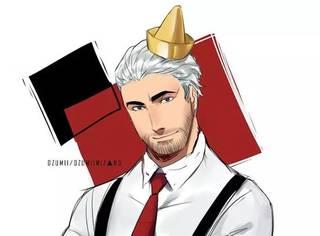 他为麦当劳汉堡王改了新的形象,肯德基爷爷帅成吴秀波!