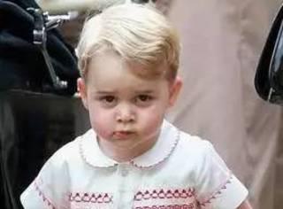 """""""你们都是乡巴佬"""",嫌弃众生的乔治小王子4岁啦!"""