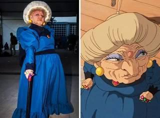 巴西老婆婆沉迷角色扮演,老巫婆形象走红网络!