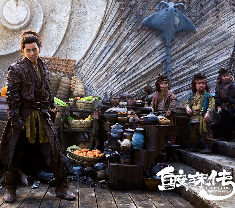 """《鲛珠传》王大陆、张天爱携手作战,与""""野心家""""任达华激烈对决"""