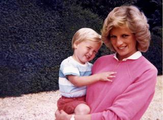 戴安娜王妃逝世20周年,英国王室公开了3张罕见私人照片