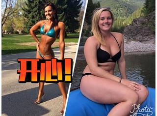 健美冠军停止健身了,但她说现在才更快乐