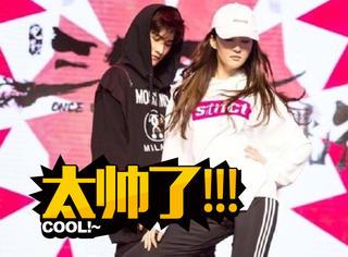 疯狂打call!刘亦菲、杨洋现场尬舞,那叫一个帅!
