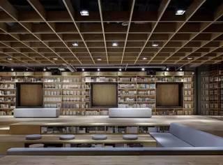 新华书店设计改成这样,我都不敢穿拖鞋进去看书了!