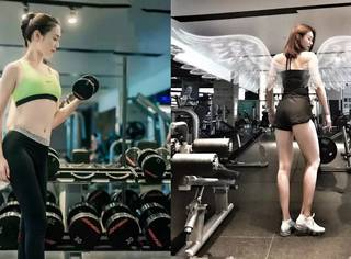 想有超模身材,撸铁or有氧,看她就懂了!