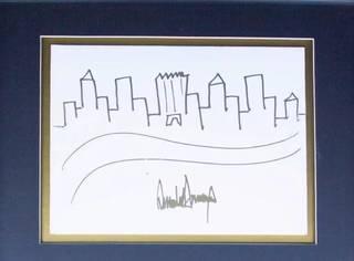 特朗普的画作居然卖出近20万,看完我不厚道地笑了